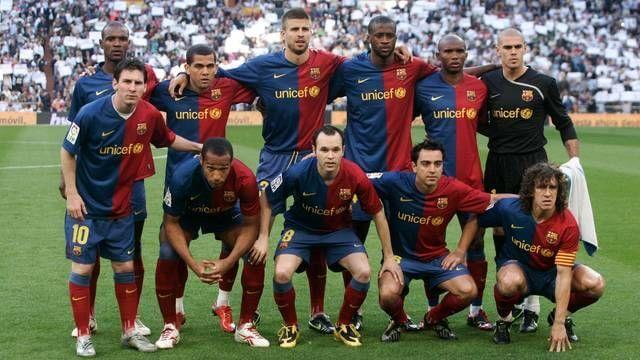 Barcelona team 2008-09