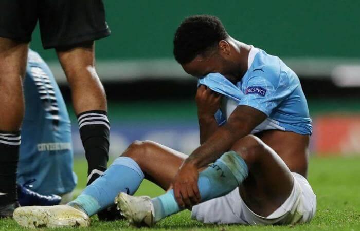 Raheen Sterling after Lyon game
