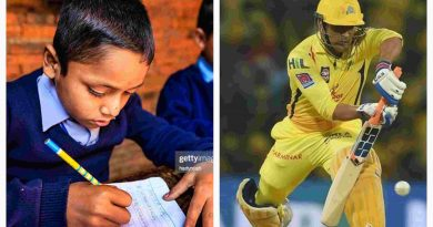 Dhoni playing for CSK