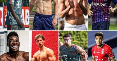 Bayern players are ripped