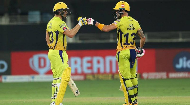 watson and faf du plessis