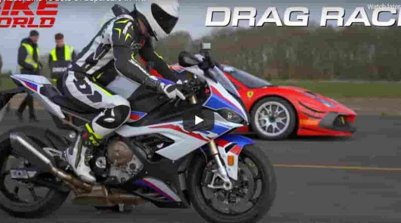 S1000 RR drag race