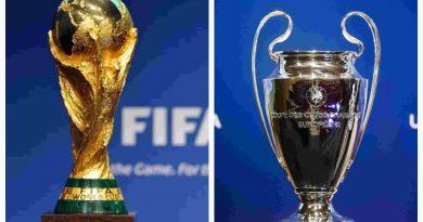 World Cup vs Champions League