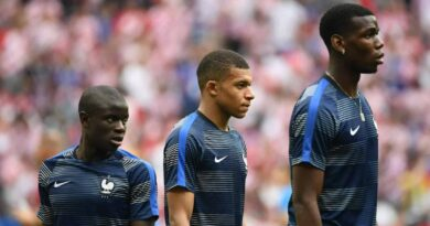 Kante let down by France